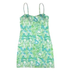 Lilly Pulitzer Bear Lion Floral Mini Sun Dress